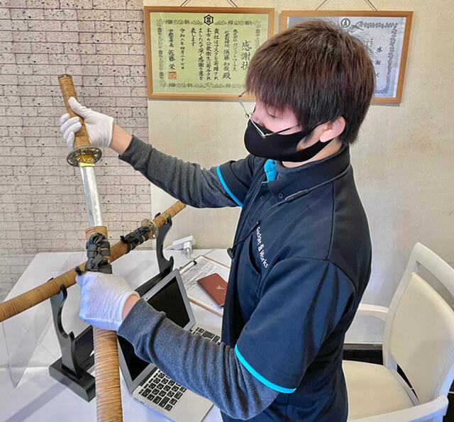 買取専門 宮の吉 日本刀の鑑定
