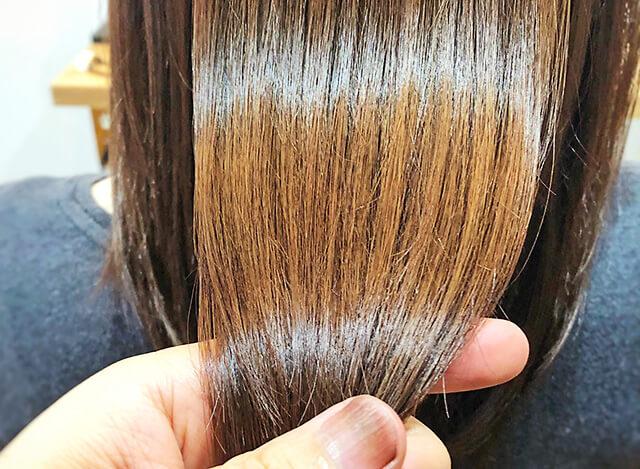 ヘアリラクゼーション5cochi ツヤとハリのある髪