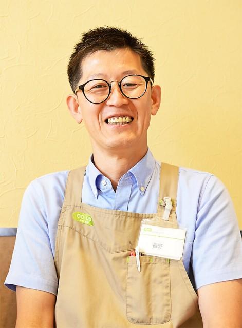 コープ越戸店副店長の西野さん