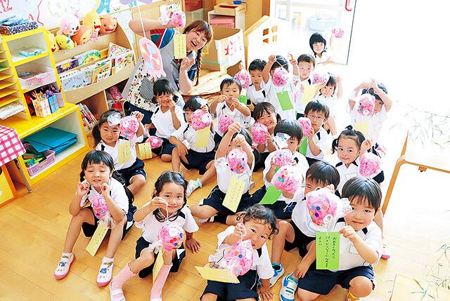 恵光幼稚園の行事の様子