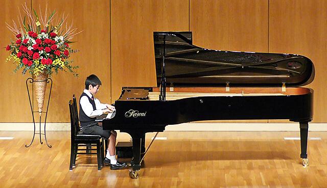 ウジイエピアノ教室 発表会の様子