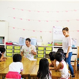 楽しく学ぼう! 子ども英会話教室バナナキッズ
