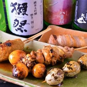 アピタ宇都宮店すぐそば 炭火焼 飛菜鶏で絶品焼き鳥を堪能