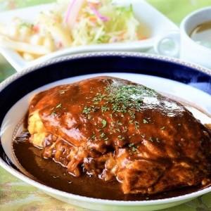 洋食店のザ・オムライスが食べられる店 カフェテラスライオン
