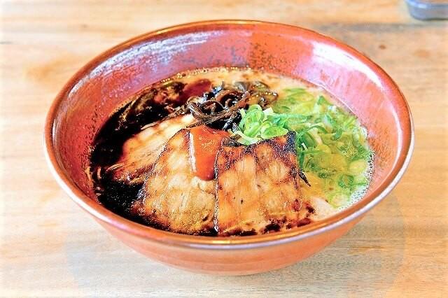 麺工房風の杜のラーメン「黒風」