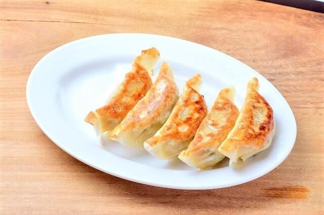 麺工房風の杜の餃子