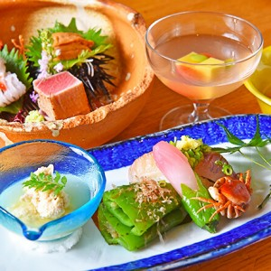 大人の和食料理店「四季料理 はな坊」で旬の素材をいただく – PR