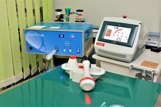 オゾン治療用の機械