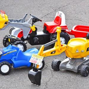 宇都宮の「福田機械店」で子どもが喜ぶ乗り物オモチャを発見! – PR