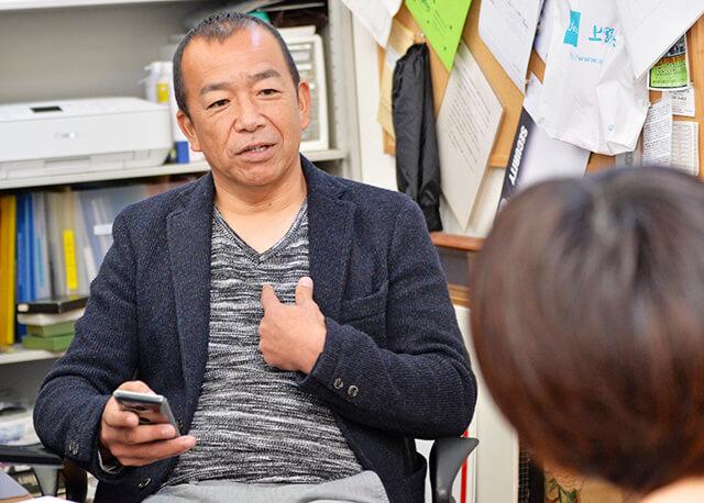 ディープな話をしてくれている斎藤社長さん