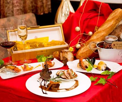 アルページュのクリスマスディナー