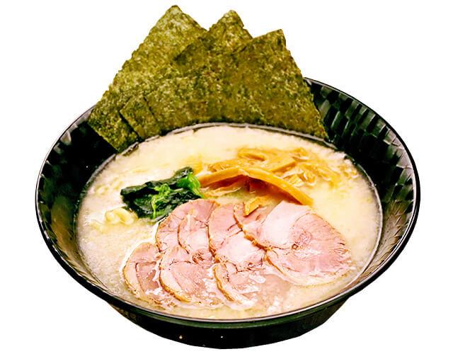 麺道花の杜「豚骨塩ラーメン」