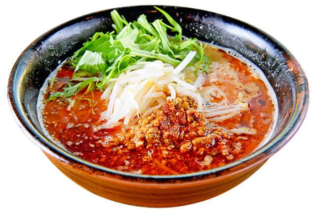 麺龍炎の杜「とんこつ味噌担々麺」