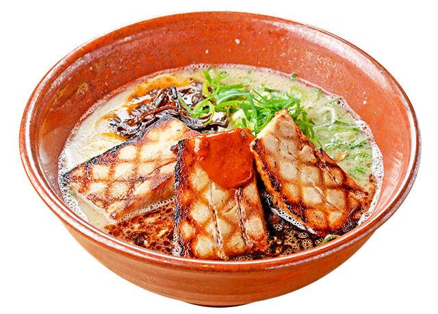 麺工房風の杜「黒風肉多め」