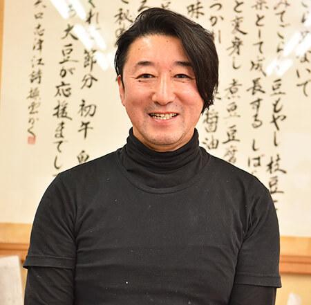 豆腐職人でもある社長の大谷さん