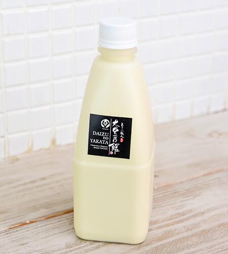 大豆乃館の豆乳