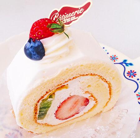 ロンシャン洋菓子店のフルーツロール