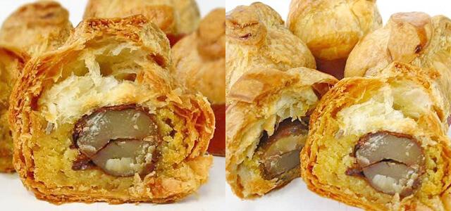 ロンシャン洋菓子店のマロンパイ