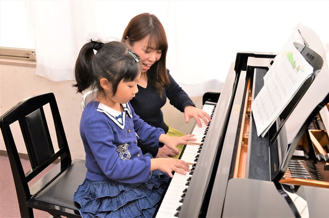 カワイ音楽教室ピアノレッスン