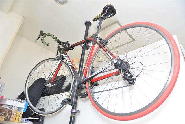 高橋先生の自転車