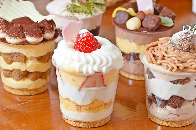 ベーカリーノアのカップケーキ