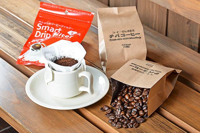 チバコーヒーのコーヒーギフト