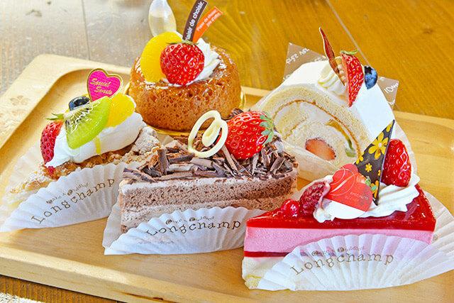 ロンシャン洋菓子店のケーキ