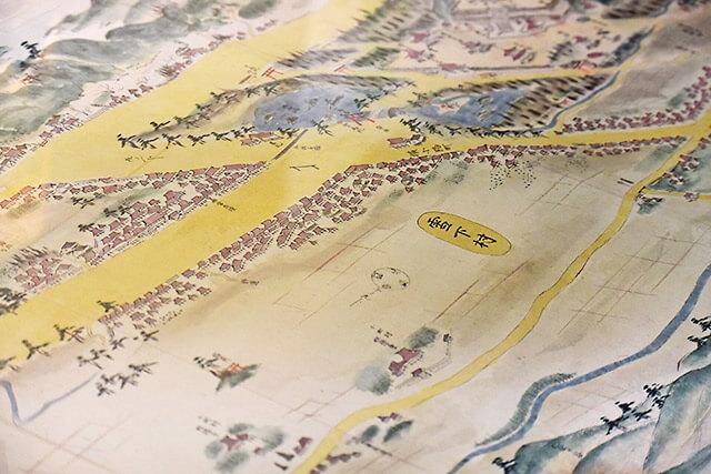 鎌倉街道絵図