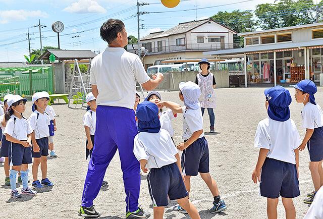 恵光幼稚園の体操教室