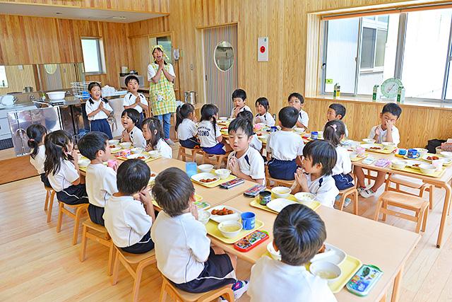 恵光幼稚園の給食室