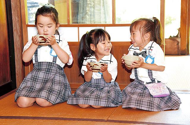 恵光幼稚園の行事お作法道場