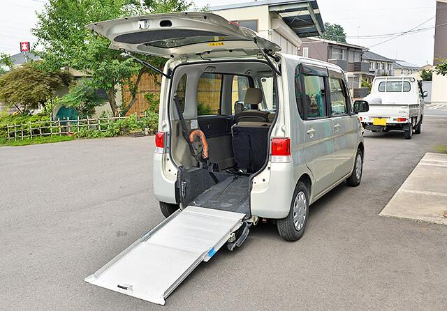 阿久津整備で修理した福祉車両