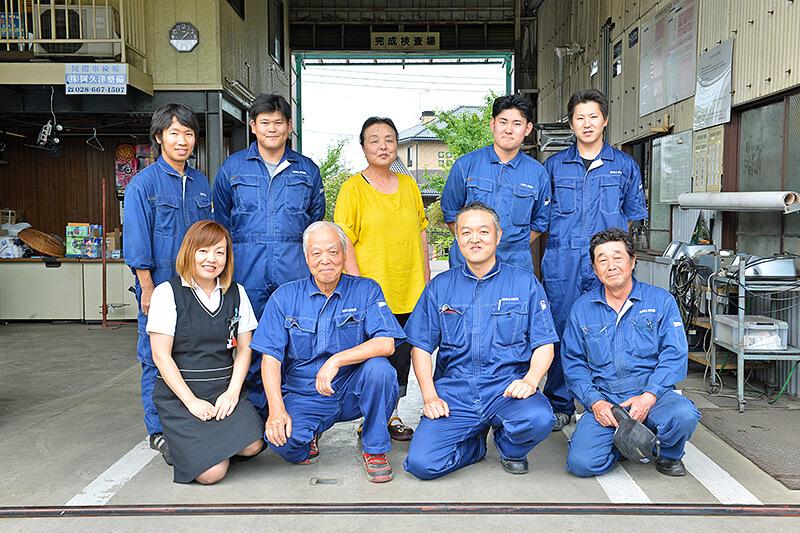 株式会社阿久津整備民間車検場のスタッフの皆さま