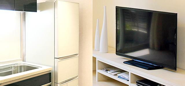 テレビ&冷蔵庫イメージ画像