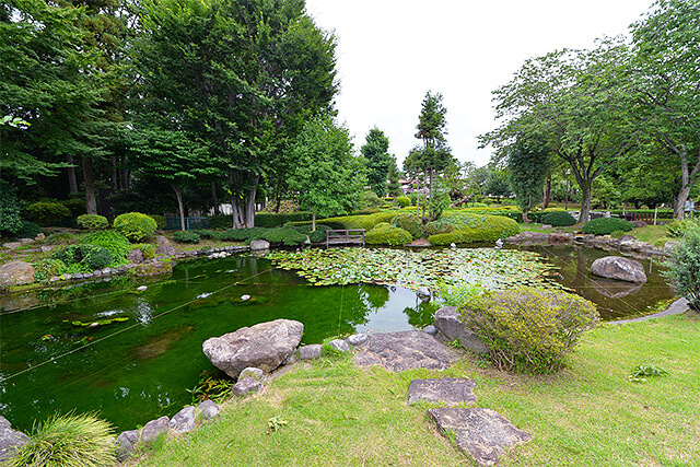 惠光寺の日本庭園