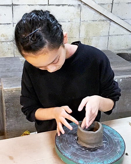 宇都宮陶芸倶楽部夏休み子ども陶芸教室
