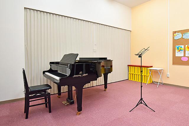 カワイ音楽教室ミュージックスクールゆいの杜のレッスン室