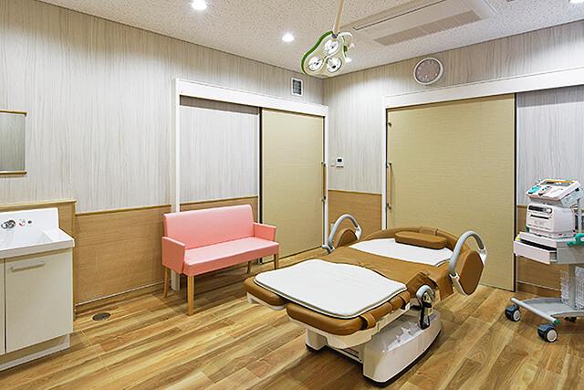 ゆめクリニックの分娩室