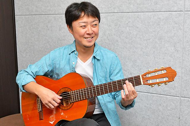 くろねこ音楽教室ギター講師早乙女先生