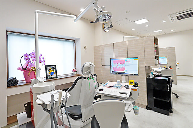佐貫歯科矯正歯科 診察室