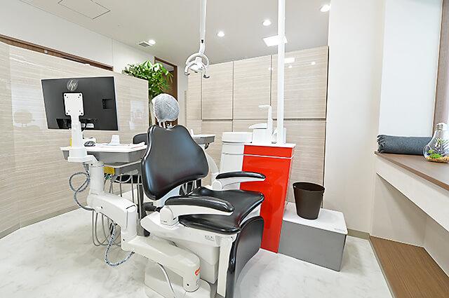 佐貫歯科矯正歯科 治療台