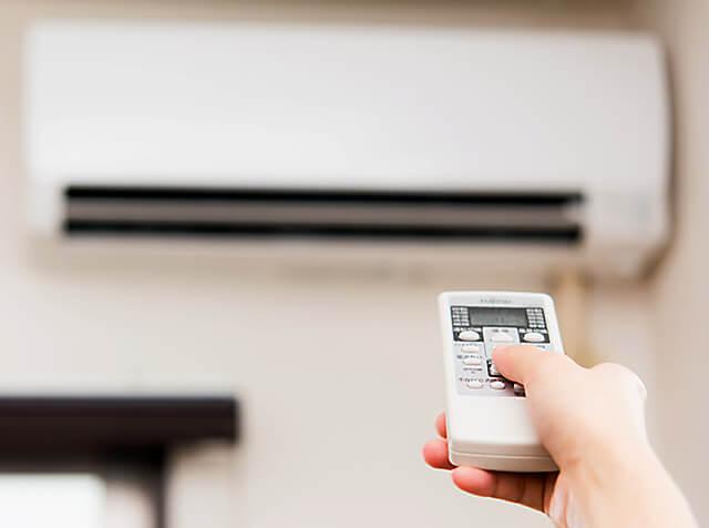 冷暖房の効率がいいイメージ