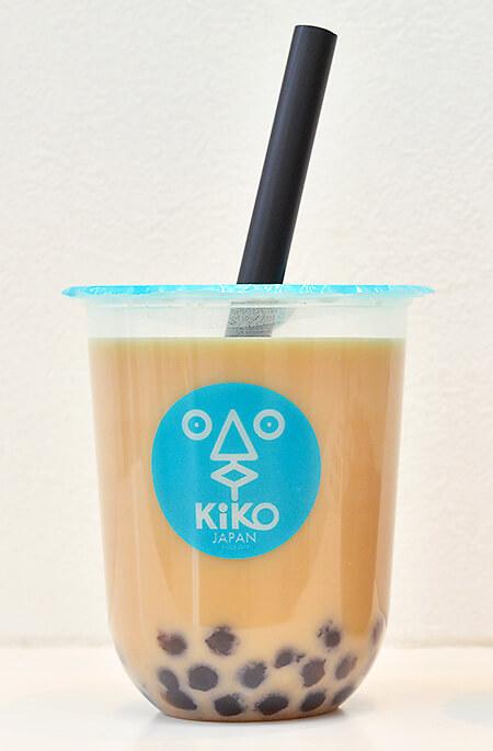 タピオカKiKOの黒糖セイロンミルクティー