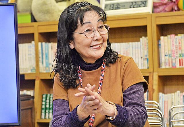 公文中央教室の小田林先生