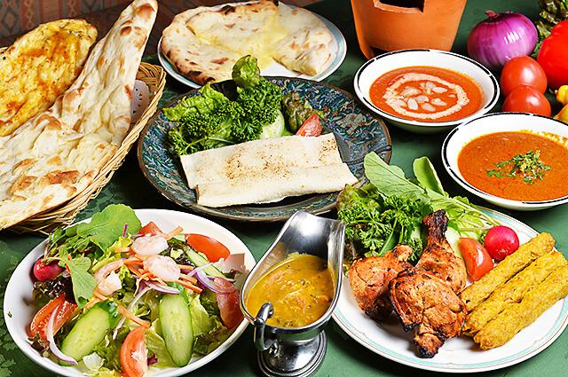 タージマハル タージマハルのおすすめ料理の数々