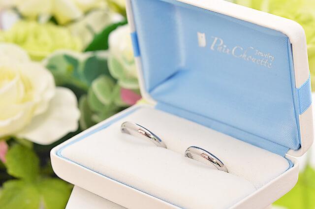 結婚相談所 Kizuna宇都宮にあった結婚指輪