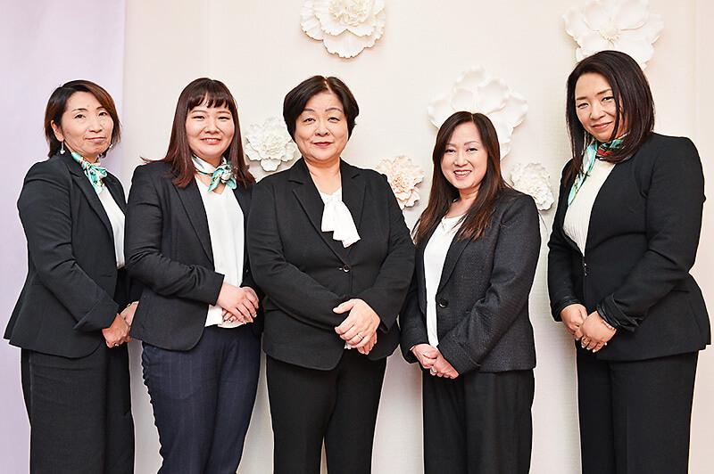 結婚相談所 Kizuna宇都宮 女性スタッフの皆さま