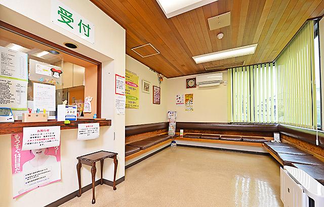 森医院の受付