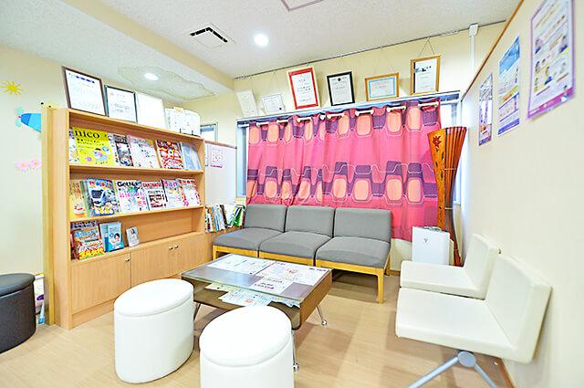 やまぐち歯科醫院 待合室