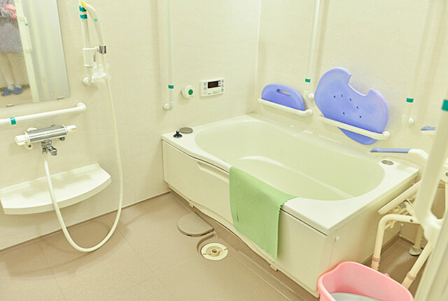 サービス付き高齢者住宅にあるお風呂